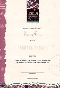 Jewellex 1997 overall winner