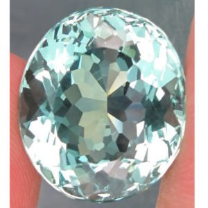 13.9ct light green amethyst
