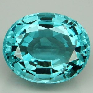 30.1ct oval aquamarine (HT)