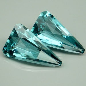 31ct aqua fancy pair.