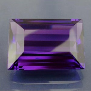 21.50ct Rectangle amethyst